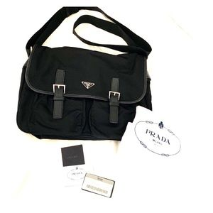 Prada vela sport messenger bag